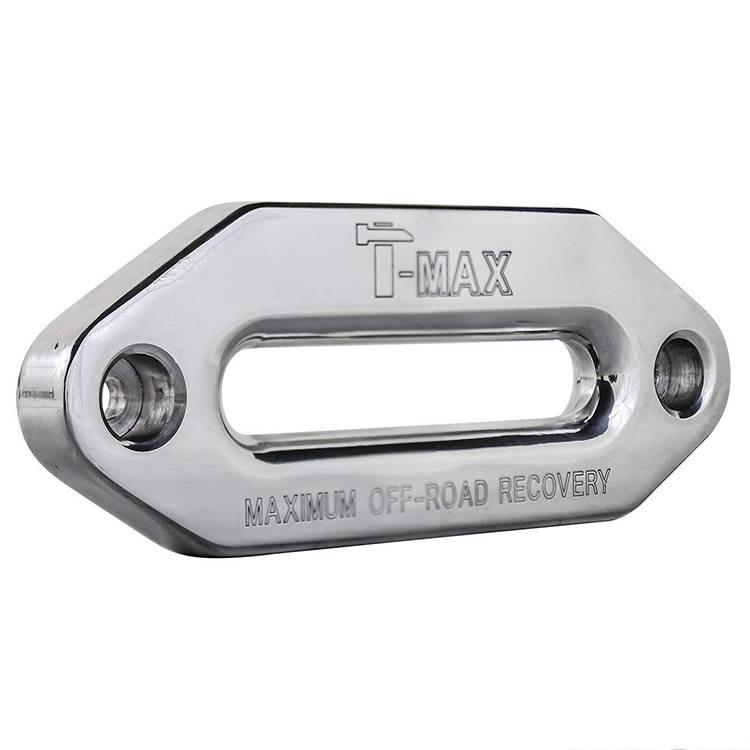 Guide ecubier aluminium T-Max pour corde synthétique