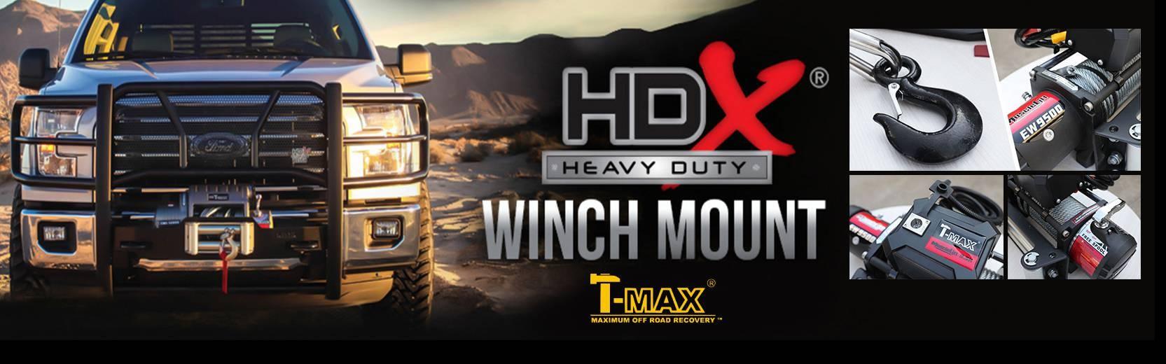 Accessoires4x4, les nouveautées :  Tmax Winch Mount
